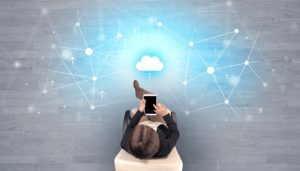 visual representation of cloud computing